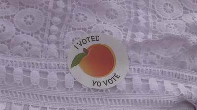 Residentes de Georgia se preparan para participar en la segunda vuelta de elecciones programadas