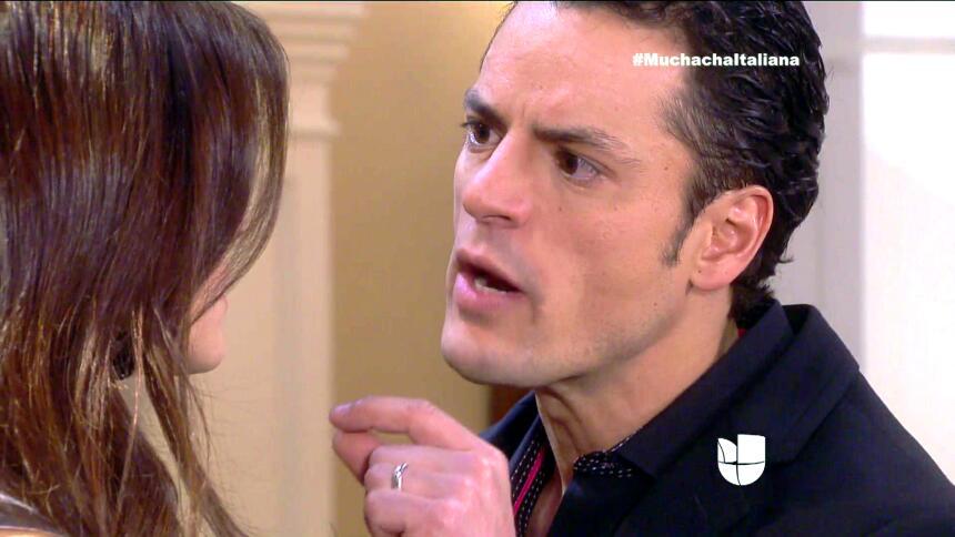 En Muchacha Italiana, Pedro corre gran peligro, pues Osvaldo no se va a...