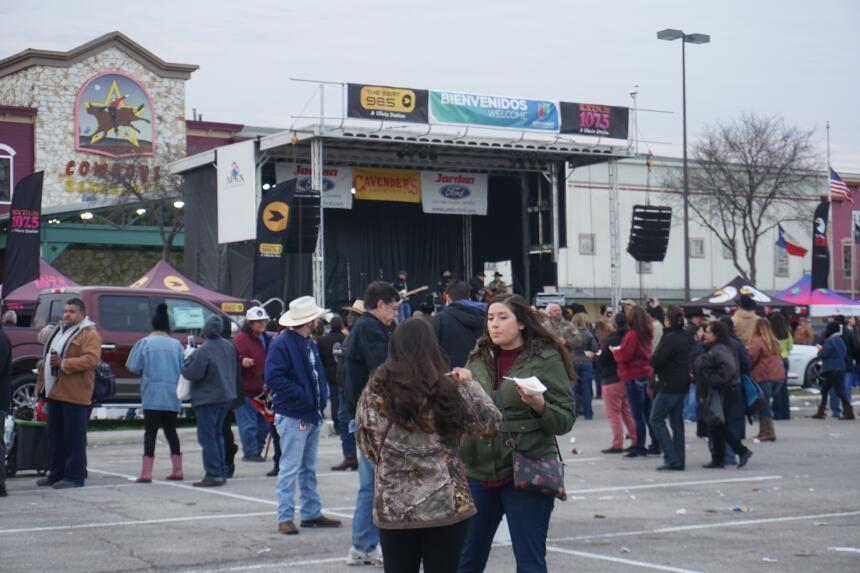 Thousands Showed Up To Get Free Food and Entertainment at the Cowboy Bre...