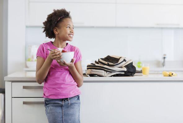 El desayuno debe estar completamente equilibrado entre proteínas, carboh...