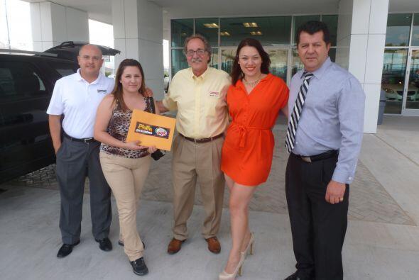 ¡Felicidades a Zulma Betancourt ganadora en Shamaley Buick GMC!