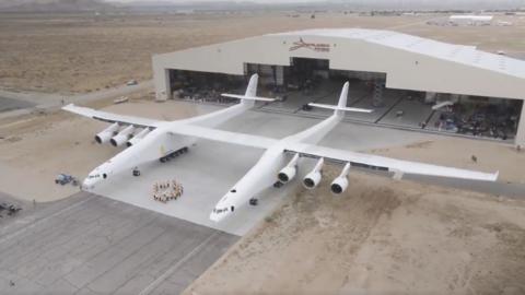 Una mirada al avión más grande del mundo