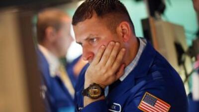 La caída del Dow Jones supone el segundo peor descenso del principal ind...