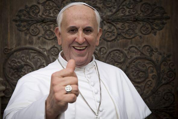 Al Papa Francisco se le cuida mucho debido a que sólo tiene un pulmón fu...