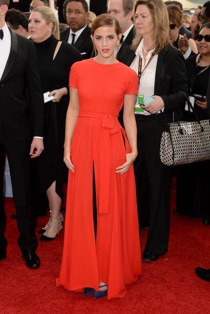 La verdad es que en esta ocasión Emma Watson no impactó con su vestido d...