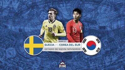Suecia y Corea del Sur debutarán en Rusia con la victoria de México como motivación