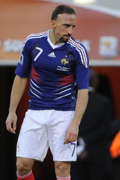 ''Todo el mundo se ríe de nosotros'': Frank Ribery (tras la crisi...
