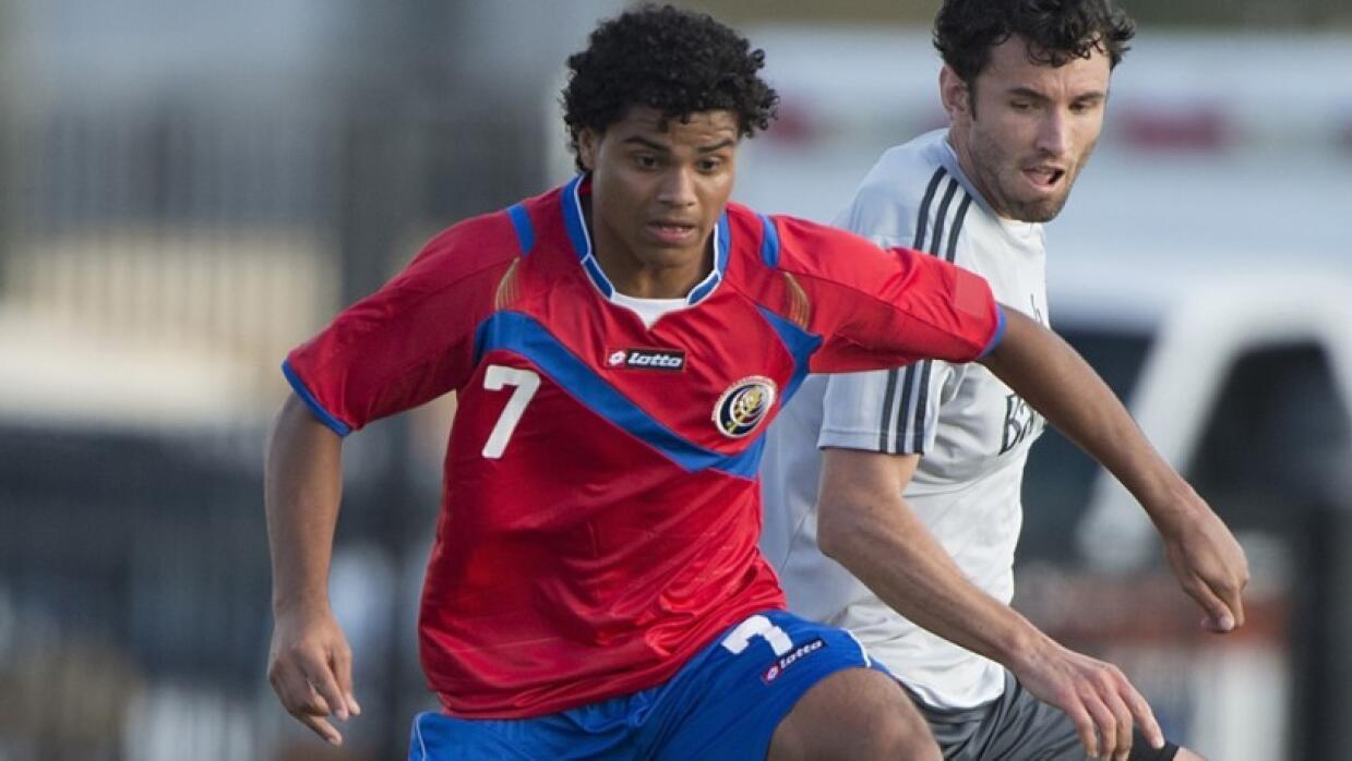 Julio Cascante con Costa Rica