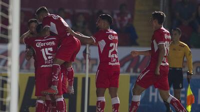 En fotos: Toluca se pone segundo en la tabla luego de superar al Veracruz