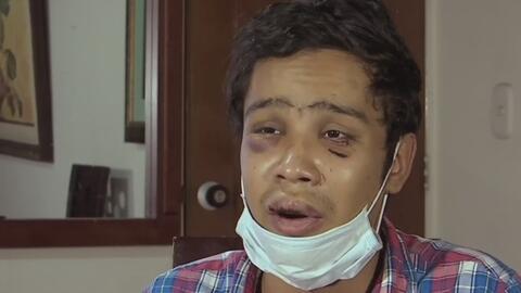 Por defender a una mujer de los golpes de su pareja, un joven estuvo a p...