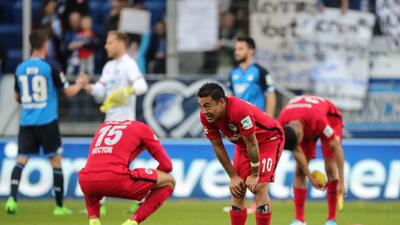 El Hoffenheim logró un triunfo agónico sobre el Frankfurt de Fabián y se clasificó a Champions