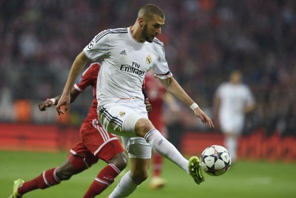 Benzema espera poner la cuota goleadora para los blancos. El francés vie...