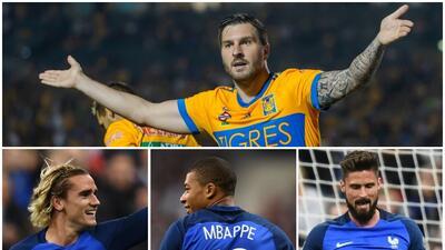 Gignac, ¿es mejor goleador que Griezmann, Mbappe y Giroud?