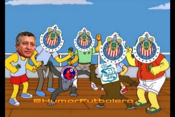 Los aficionados atacaron con todo al América, Pumas y las Chivas...