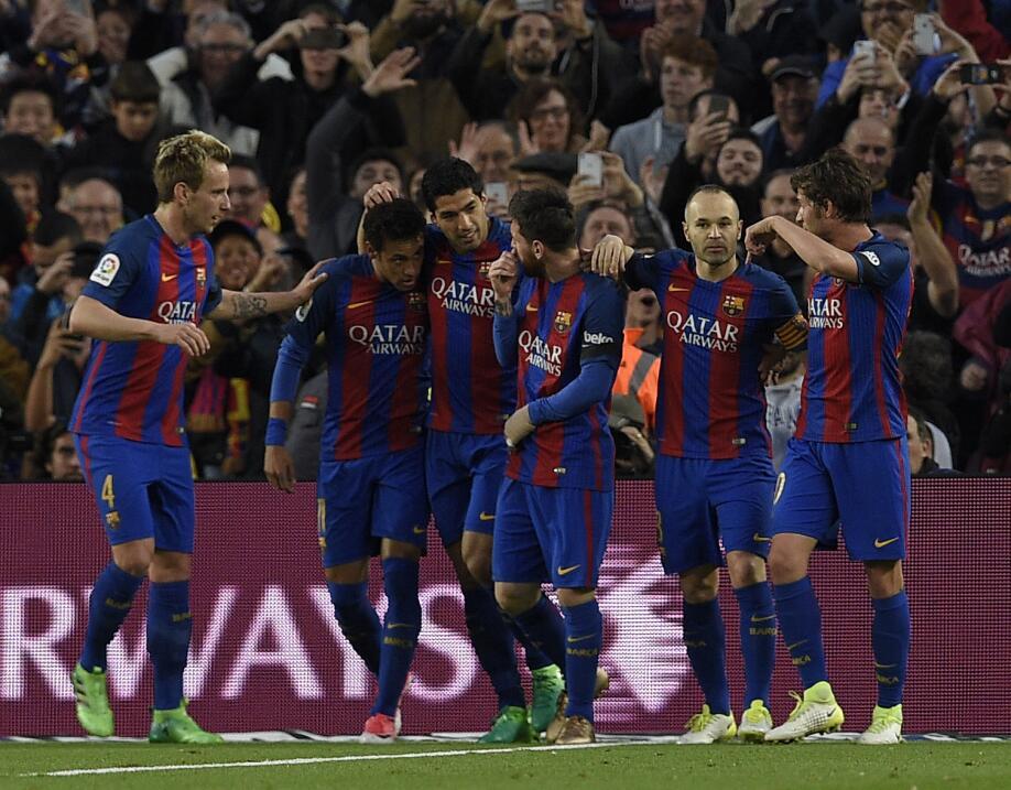 3. Barcelona (España - UEFA) / 280 puntos