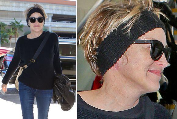 La actriz levantó sospechas luego de ser vista en LAX.