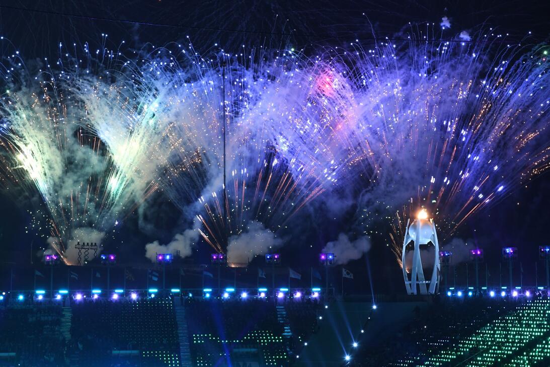 ¡Espectacular!: luces, colorido y música en ceremonia de cierre en Pyeon...