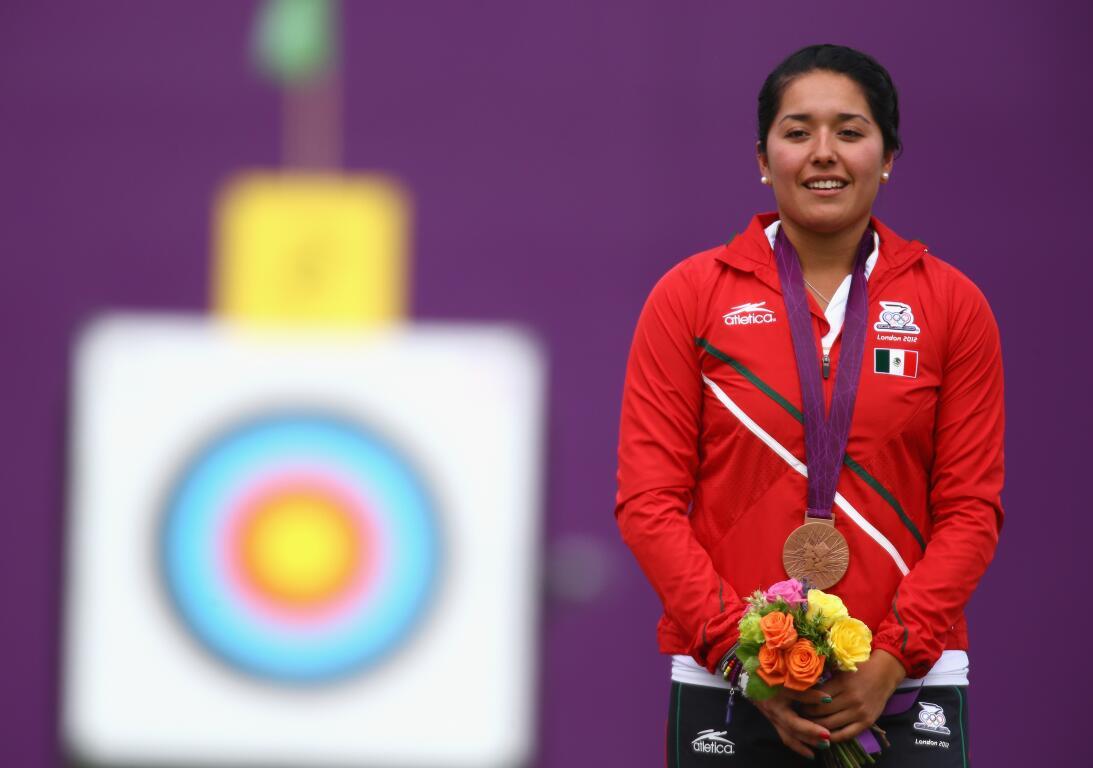 Mariana Avitia Martínez: en la prueba de tiro con arco individual de Lon...