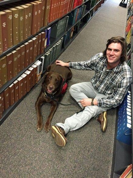 Mark 'Brady' Lerille, estudiante de la Universidad de Louisiana en Lafay...
