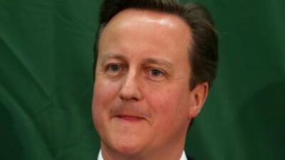El primer ministro británico, David Cameron.