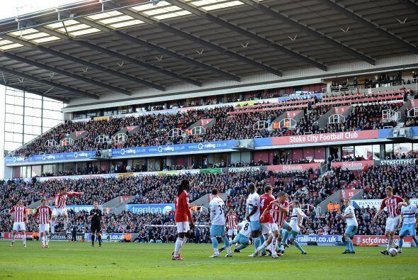 El otro juego de la jornada dominical lo protagonizaron el Stoke City y...