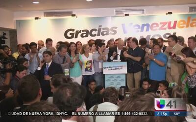 Maduro acepta la victoria de la oposición venezolana