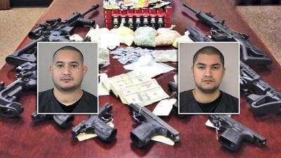 Decomisan armas, drogas y efectivo tras operativo encubierto en un vecindario al oeste de Houston