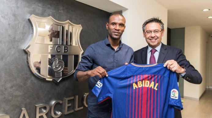 El Barcelona se reivindicó con Abidal, su nuevo embajador ante el mundo...
