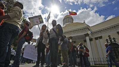 Edificio de la Asamblea Nacional venezolana