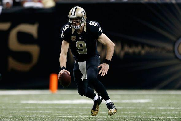 #7 Drew Brees, New Orleans Saints.