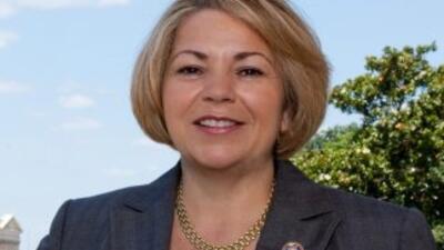 La congresista Linda Sánchez.