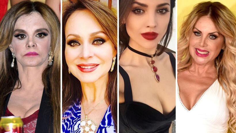 Las actrices que juran no tener cirugías pero nadie les cree