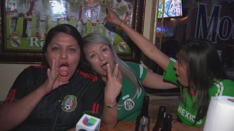 Celebran en grande el triunfo de México