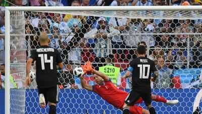 ¿Es cineasta el portero que le atajó un penalti a Lionel Messi?