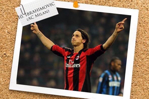Zlatan Ibrahimovic fue la figura en el 'Derby della Madonnina' que con u...