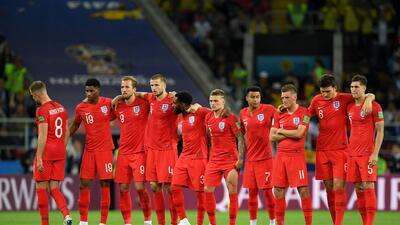 Así fue la tanda de penaltis entre Inglaterra y Colombia en octavos de final