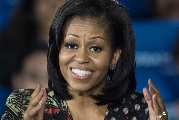 La primera dama de Estados Unidos cumple hoy 50 años. Y para cele...