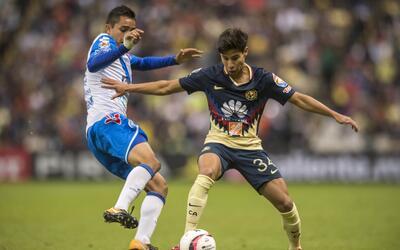 Las Águilas y Puebla igualaron a un gol en el Estadio Azteca.