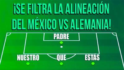 Los memes por el debut de México en el Mundial contra Alemania