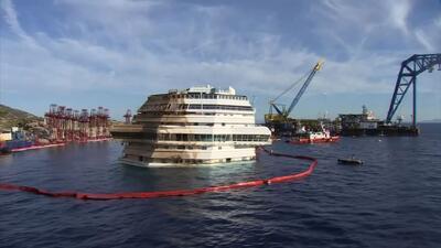 Encuentran restos humanos en el Costa Concordia