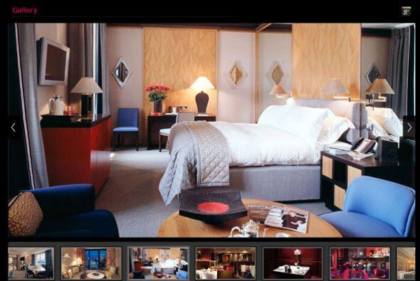 El hotel localizado en Ginebra, Suiza, tiene una de las habitaciones más...