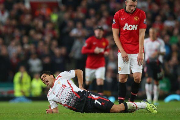 El partido tuvo momentos de dureza.