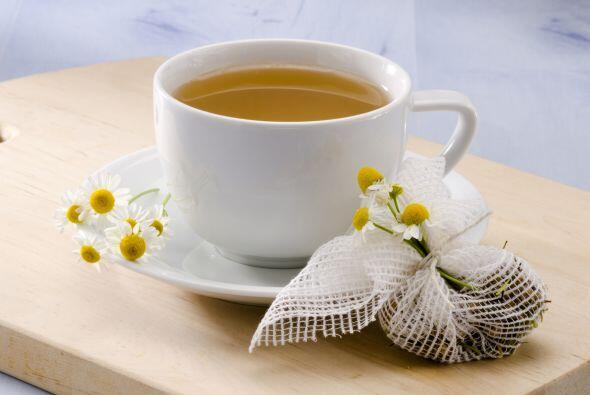 Té de manzanilla Este té ha sido utilizado para tratar este padecimiento...