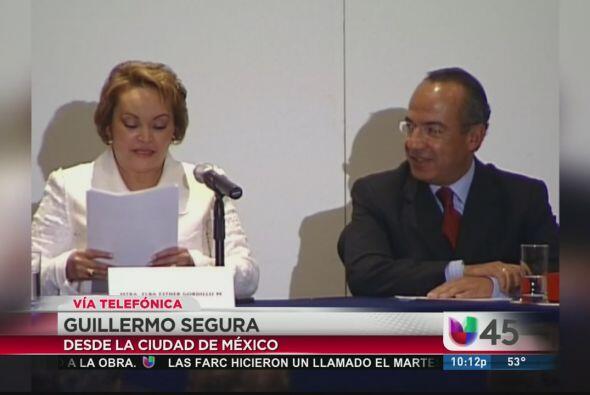 Elba Esther Gordillo, líder del sindicato de maestros de México, fue det...