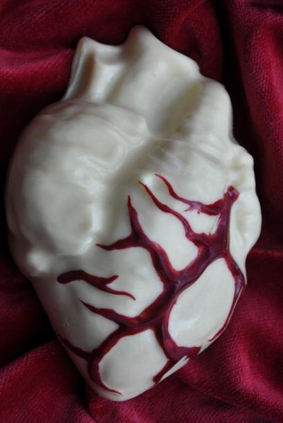 No creo que alguien quisiera probar un pedazo de corazón, ¿te lo imagina...