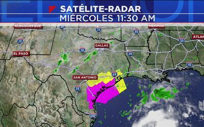 """El fenómeno tropical """"Harvey"""" traerá lluvias al centro de Texas"""