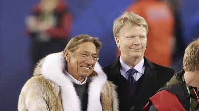 Super Bowl: Joe Namath y Phil Simms dieron el volado