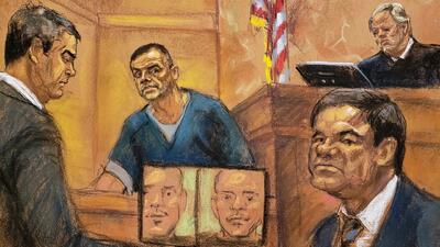 Un exnarcotraficante que presuntamente distribuía cocaína para 'El Chapo' declaró en su contra