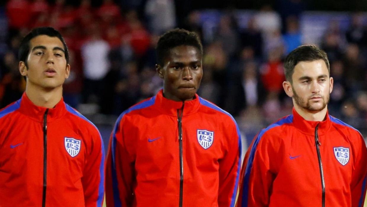 Matthew Olosunde, selección Sub-17 de EE.UU.