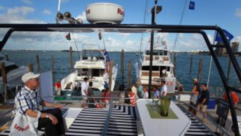 Yates de lujo, lanchas y todo tipo de embarcaciones se exhibieron en Mia...